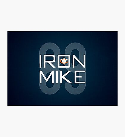 Iron Mike Photographic Print