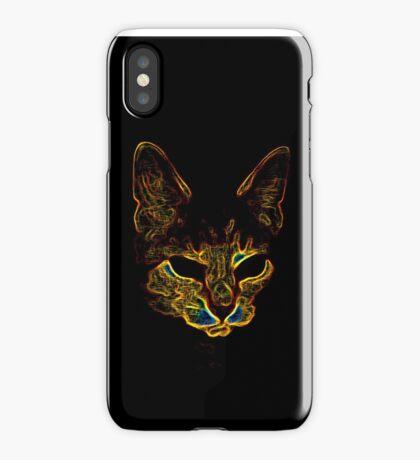 Bad kitty kitty iPhone Case/Skin
