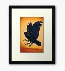 Three Eye'd Raven  Framed Print