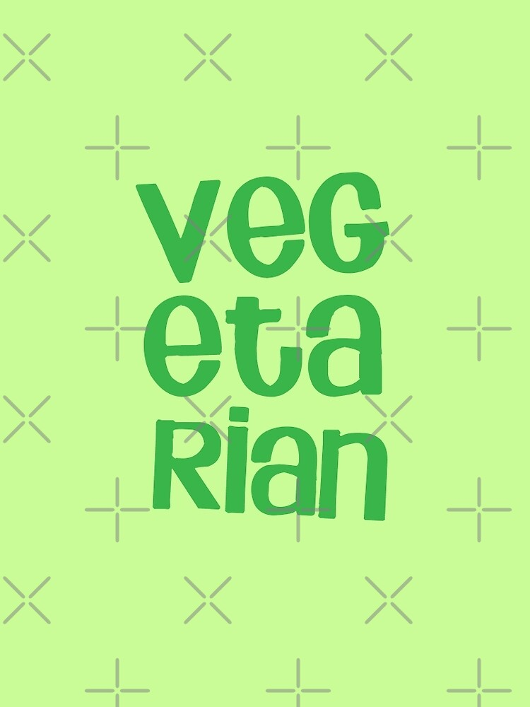 VEGETARIAN by jazzydevil