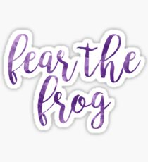 Fear the Frog (TCU) Texas Christian University Sticker