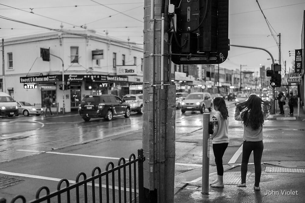 Pedestrians by John Violet