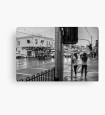 Pedestrians Canvas Print