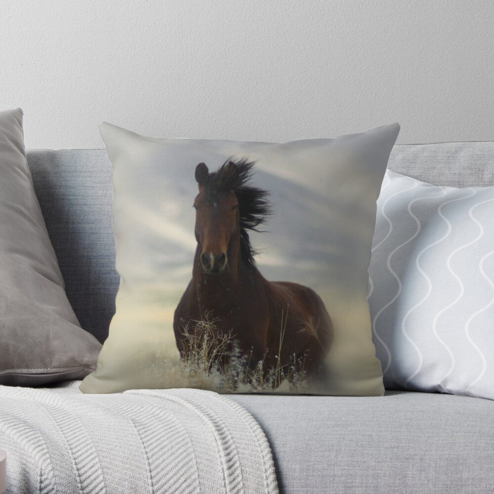 Iconic Throw Pillow & Tote Bag Throw Pillow