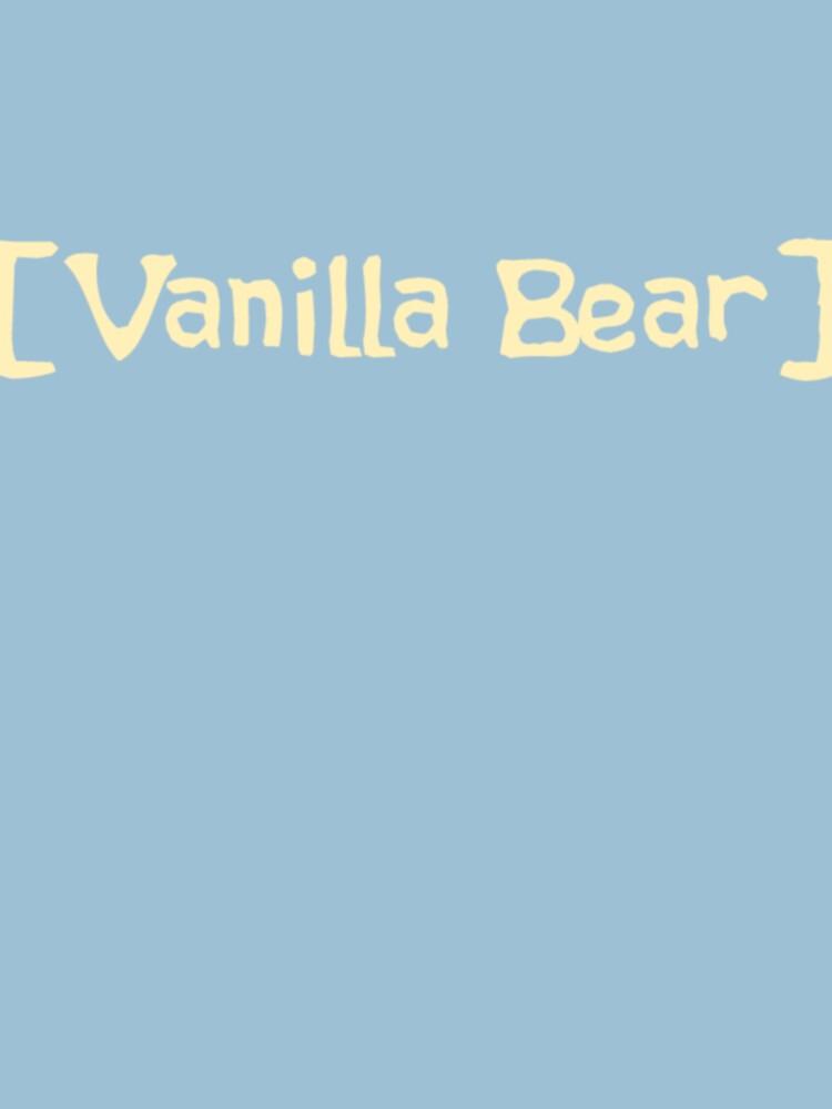 Scrubs Vanilla Bear T-Shirt by TMurney