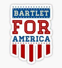 Bartlet for America Sticker