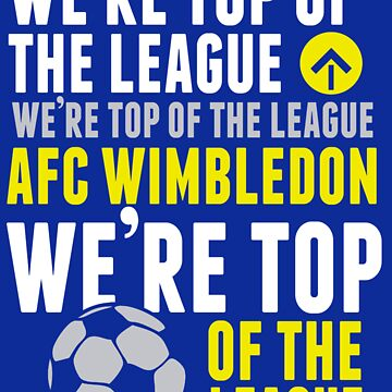 AFC Wimbly Wombys - Top of the League by Insecondsflat