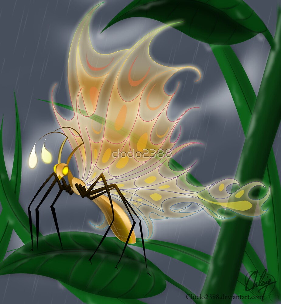 Golden Butterfly by cloclo2388