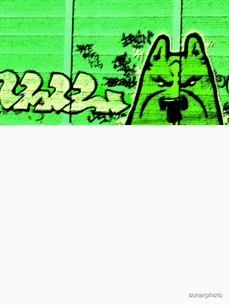 Graffiti DOG Street by sonarphoto