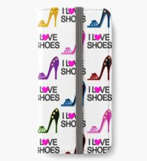 FASHION FORWARD I LOVE SHOES DESIGN iPhone Wallet/Case/Skin