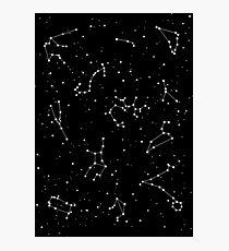 Black Night Photographic Print