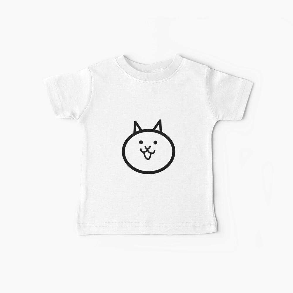 Gato de batalla Camiseta para bebés