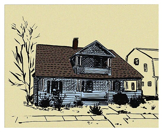 Connecticut House Series 2  by Daniel Gallegos