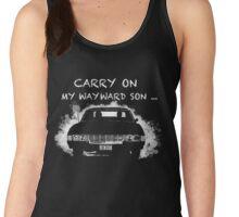 Carry on my wayward son_Supernatural Women's Tank Top