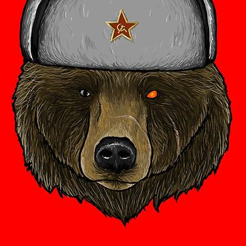 Comrade Bear by Flying-Cow960