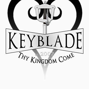 Thy Kingdom Come KINGDOM HEARTS TEE by GamerPassion