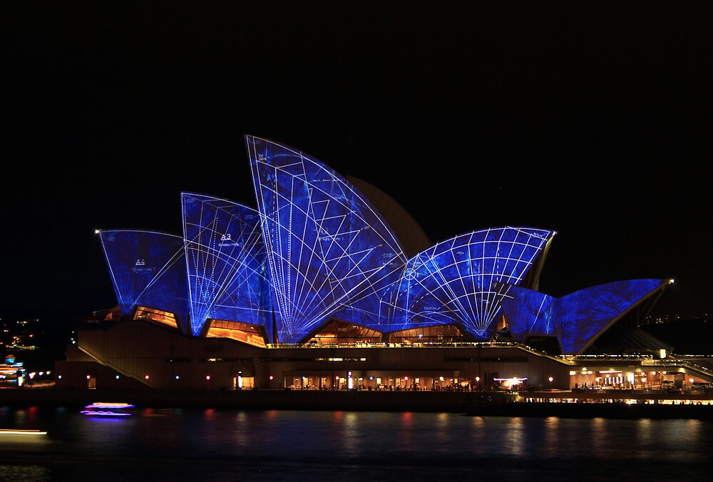 Vivid: Sydney 2014 - 001 by Kezzarama
