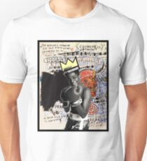 Basquiat (black border) Unisex T-Shirt