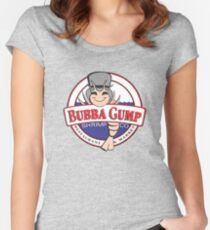 Bubba Gump Women's Fitted Scoop T-Shirt