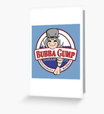 Bubba Gump Greeting Card