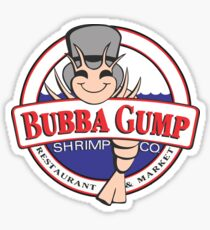 Bubba Gump Sticker