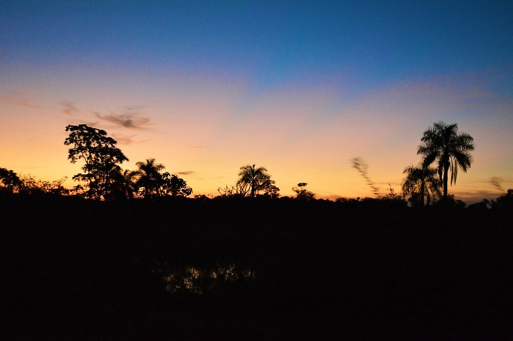 Bolivian Sunset by JoEveritt