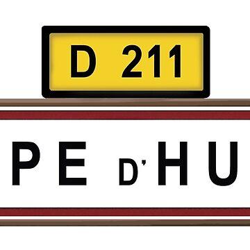 Alpe d'Huez von BeyondEvolved