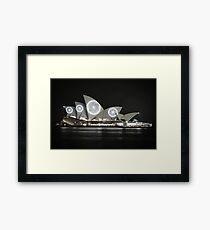 Spotted Opera Framed Print
