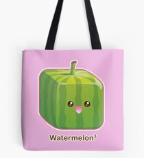 Cute Square Watermelon Tote Bag
