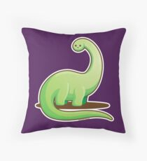 Cute Dinosaur Throw Pillow
