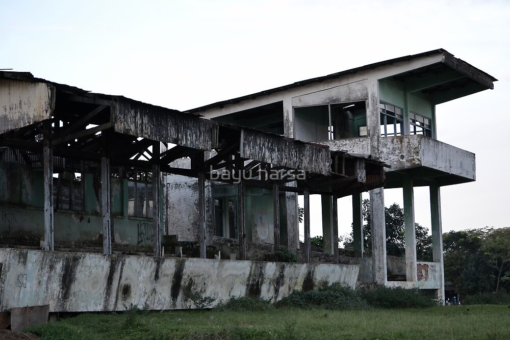 old stadium by bayu harsa