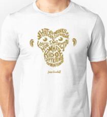 Jane Goodall monkey face T-Shirt