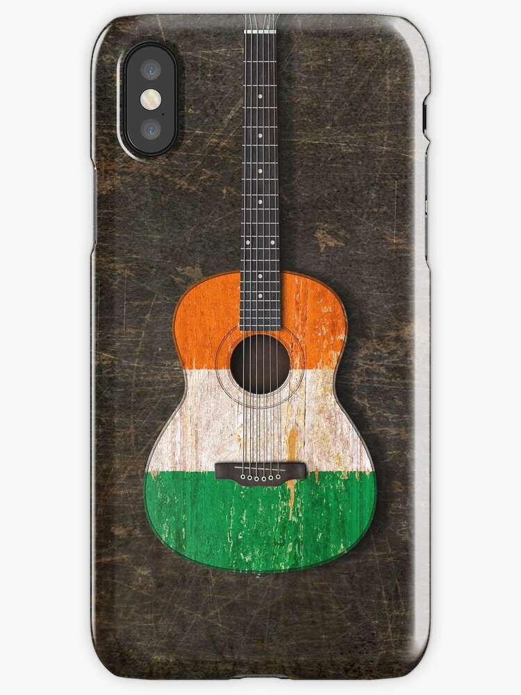 Aged And Worn Irish Acoustic Guitar By Jeff Bartels