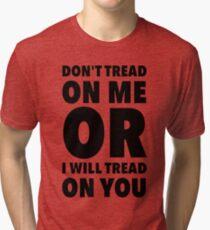 Camiseta de tejido mixto No pises sobre mí