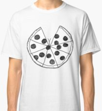 Pizza Cleavage Classic T-Shirt
