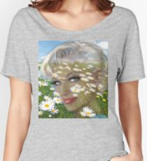 Daisies Hill Smile Women's Relaxed Fit T-Shirt