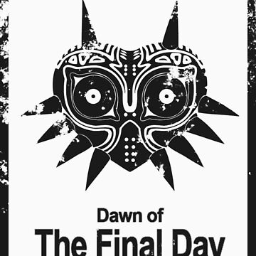 Majora The Final Day Black Version (Worn look) by morales138
