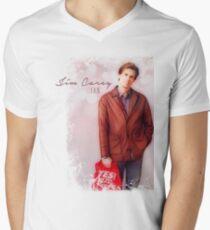 Jim Carrey Fan Men's V-Neck T-Shirt