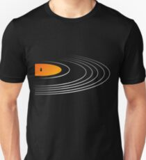 Musik Retro Schallplatte Slim Fit T-Shirt