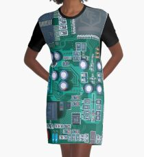 Motherboard  Graphic T-Shirt Dress