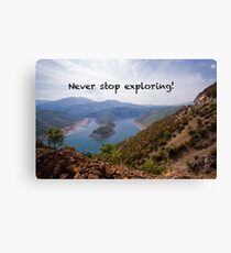 Exploring Nature - Travel Photography Canvas Print