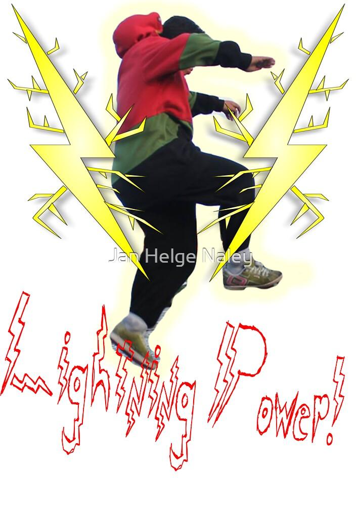 Lightning Power! by Jan Helge Naley