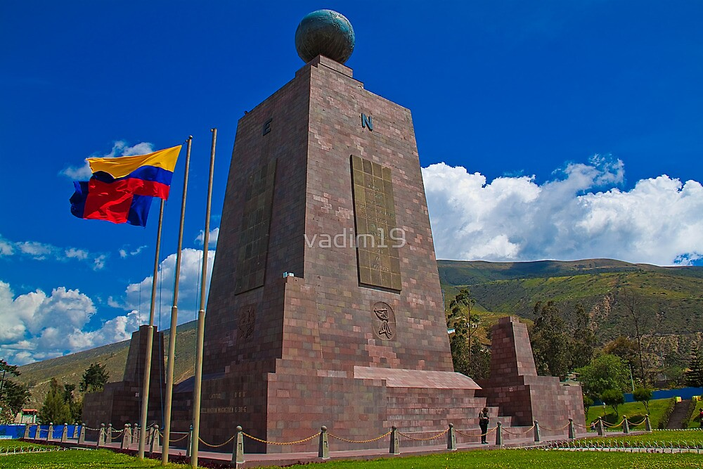 Ecuador. Pichincha. Middle of the World Monument. by vadim19