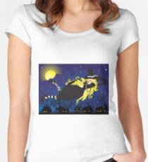 Blond Witch Women's Fitted Scoop T-Shirt