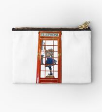 Red Telephone Box  Studio Pouch