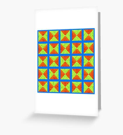 #DeepDream factures #art Greeting Card