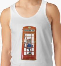 Red Telephone Box  Tank Top