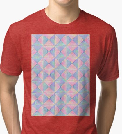 #DeepDream factures #art Tri-blend T-Shirt