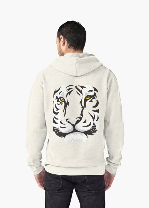 Chinese tiger by Chrome Clothing