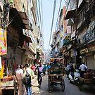 Delhi Rickshaw Ride by John Dalkin